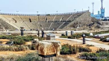 Римский театр. Кейсария