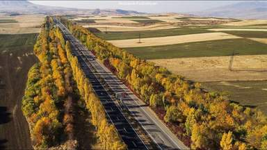 дорога в Севан