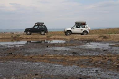 Нефтяное озеро Гобустана