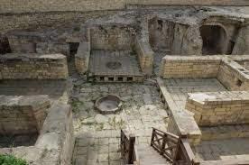 Древние бани в Баку