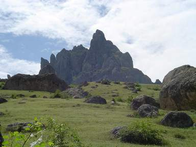 гора Бешбармаг