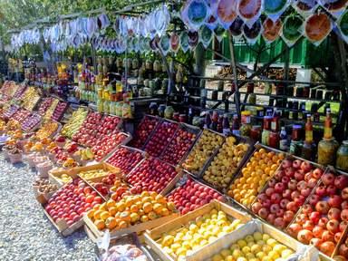 Фруктовый рынок на перевале