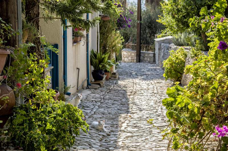 Деревня Ланья