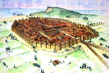 Барселона римская эпоха