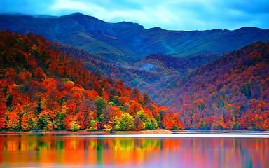 Гёйгёль осенью