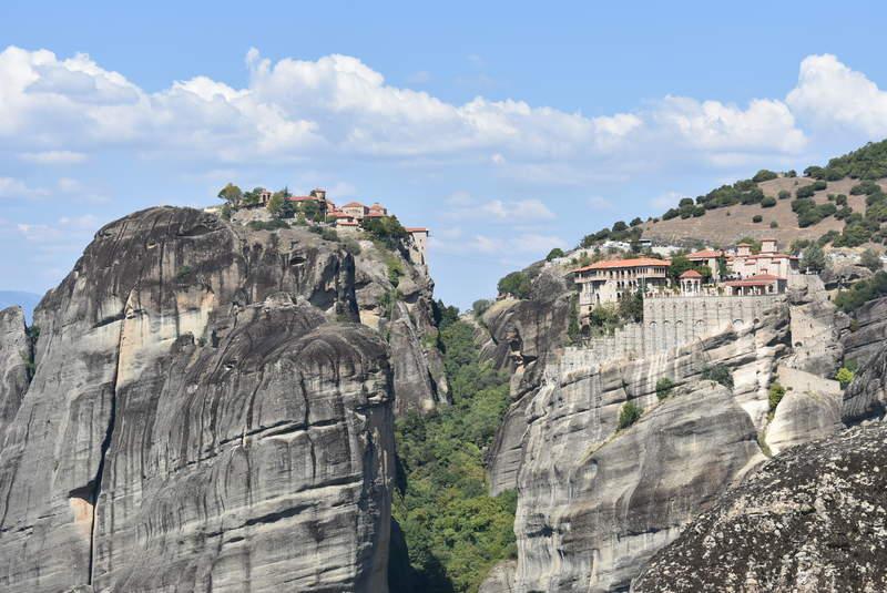 Монастыри Великий Метеор и Святого Варлаама