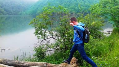 Поход к озеру