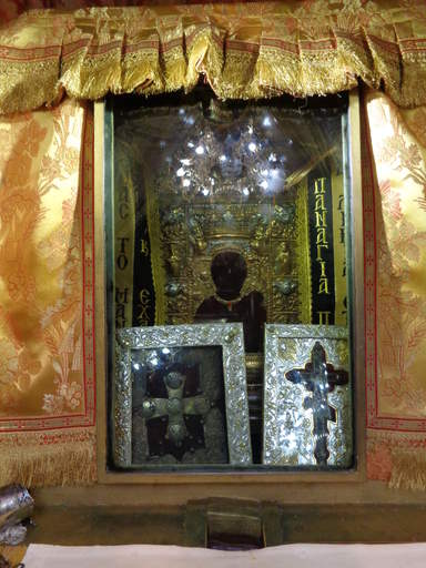 Чудотворная икона Панагия Сумела