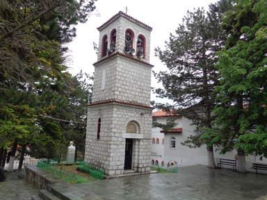 Колокольня Монастыря Панагия Сумела