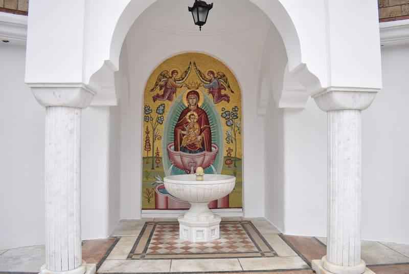 «Живоносный Источник» целебный источник святой воды