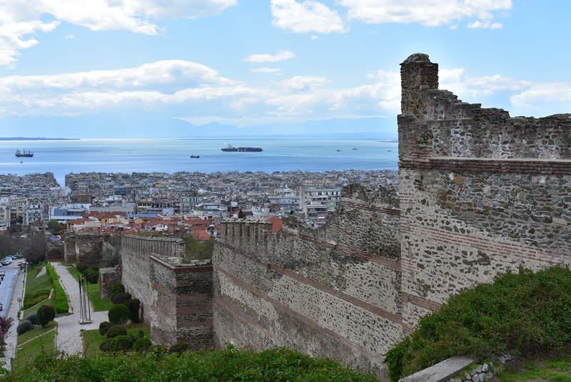 Часть крепостной стены города