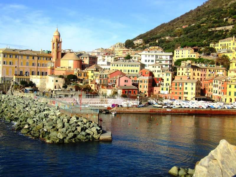 Нерви - панорамный район Генуи