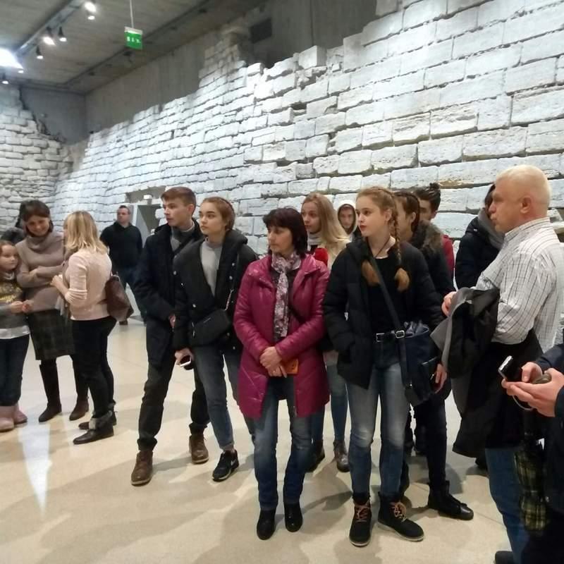 Мы в крепости Лувр