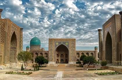Регистан-жемчужина Востока