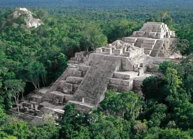 пирамида города Калакмуль