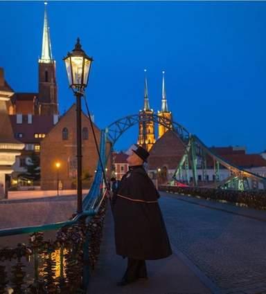 Вроцлавский фонарщик
