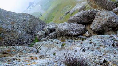 На горе Бешбармаг