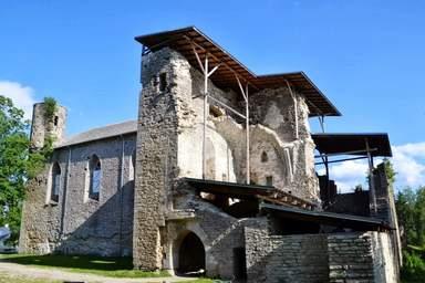 Монастырь Падизе 13 века