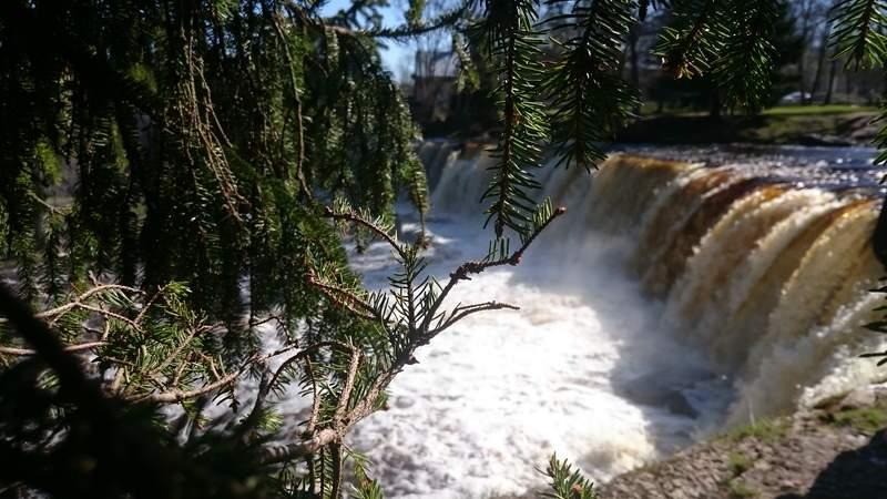 Водопад на реке Кейла