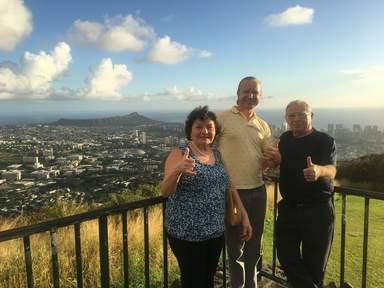 С вершины вулкана любуемся панорамой столицы
