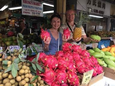 Пробуем гавайские фрукты