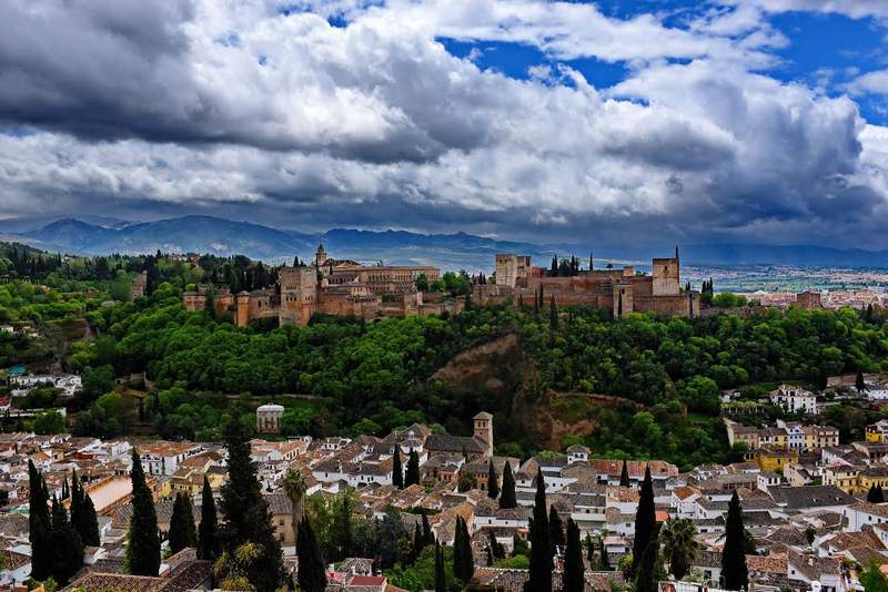 Альгамбра со смотровой площадки Св.Николая