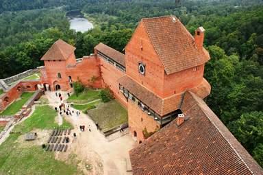 Турайдский замок - архитектурное наследие 13 века