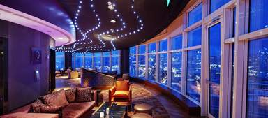 Вращающийся, панорамный ресторан