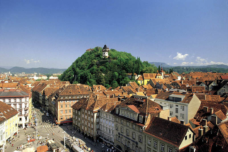 Панорама на город.