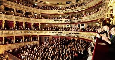 Зал Венской оперы.