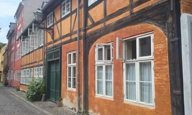 старинные дома в Кристиансхавне