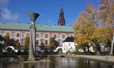 внутренний дворик Кристиансборг