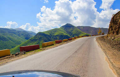 Дорога в Дашкесан