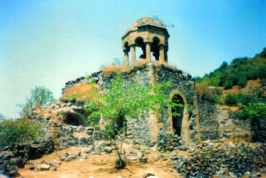 Албанский храм в горах Дашкесана