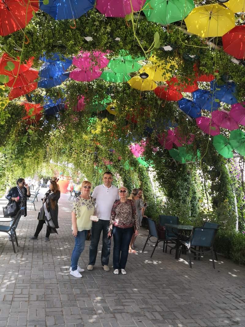 С Гостями из Украины город Днепр Любовь и Евгения
