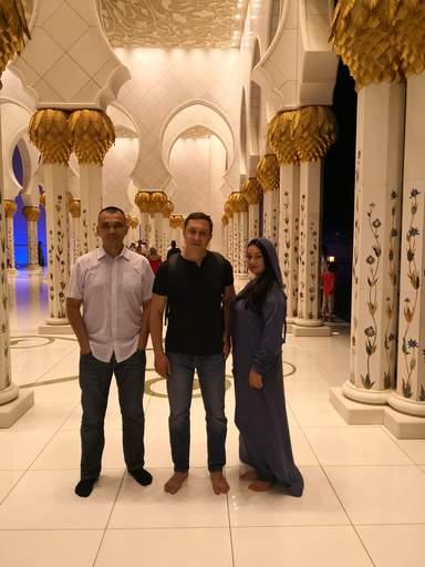 С Гостями из Башкортостана Рустам и Ляйсан