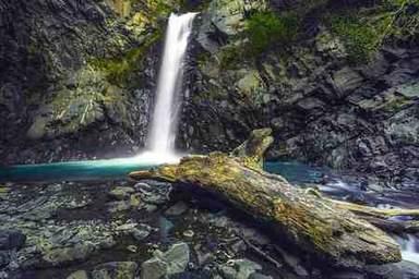 горные водопады