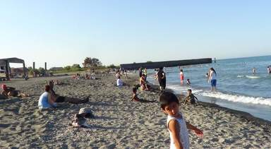 пляж в Ленькорани