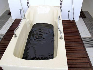 ванна из нафталановой нефти