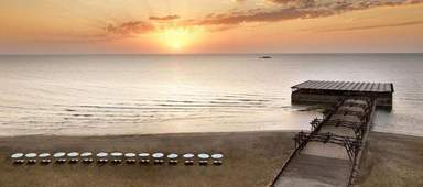 Пляж в Баку