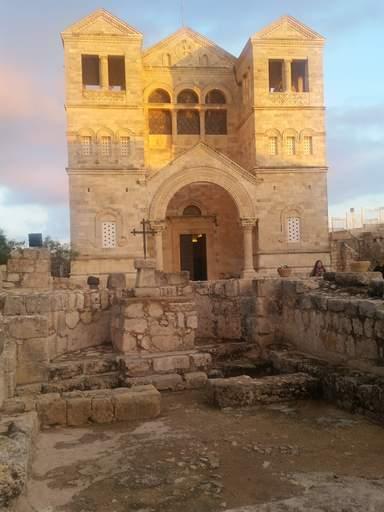 Базилика Преображения на горе Фавор