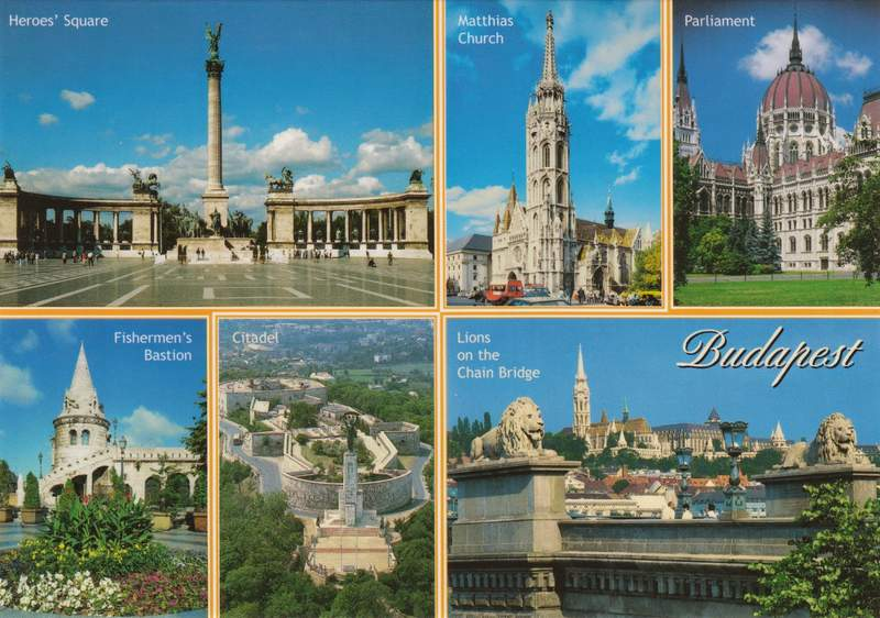 Открытка Будапешта