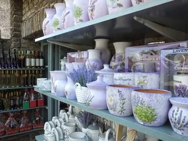 Лавандовые сувениры в Тихани