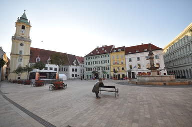 Братислава - главная площадь
