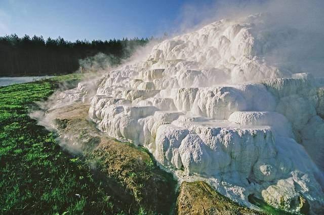 Эгерсалок - соляные отложения