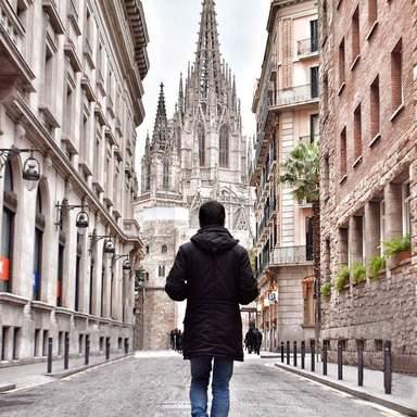 индивидуальная экскурсия  'Барселона и готический квартал'