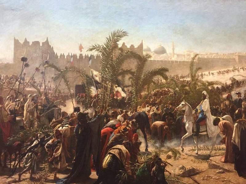 Въезд кронпринца Фридриха Вильгельма в Иерусалим