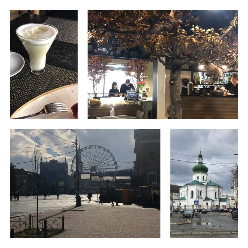 Подол, Киев. Контрактовая площадь. Истории любви на Подоле с чашечкой кофе