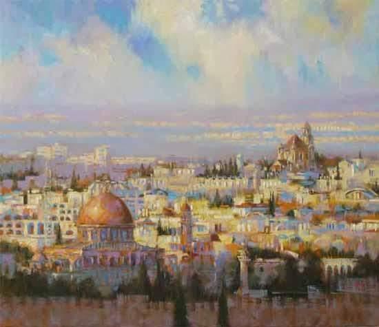 Комарова Елена. Иерусалим.
