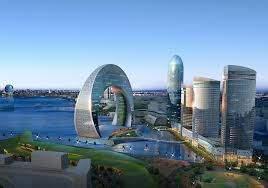 Современный Баку.